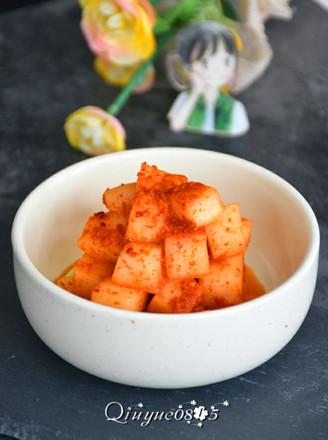 韩式白萝卜泡菜的做法