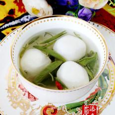 西湖莼菜鱼圆汤