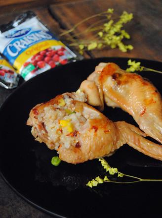 盐焗翅包饭的做法