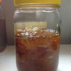 米酒家的蜂蜜柚子茶