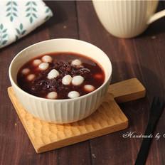 黑米糯米圆子粥