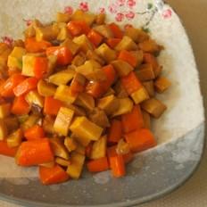 杏鲍菇烧三丁