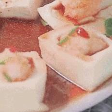 百花蒸豆腐的做法[图]