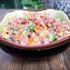 红粳米炒饭