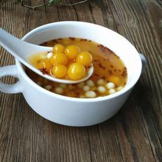 桂花鸡头米芋圆