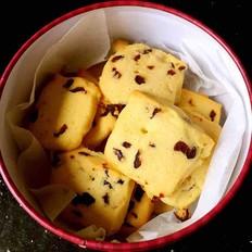 蔓越莓饼干 新手烘培