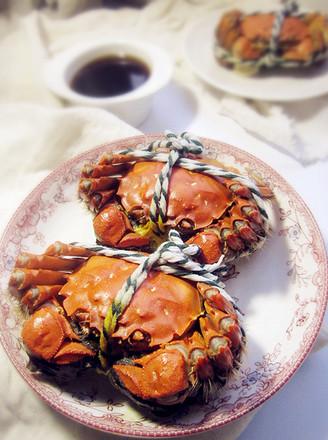 清蒸大闸蟹|原汁原味的做法