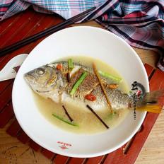 调理黄翅鱼汤
