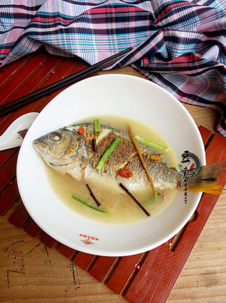 #产妇菜谱#调理黄翅鱼汤的做法