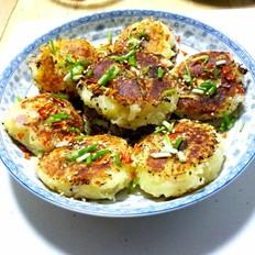 香煎土豆泥