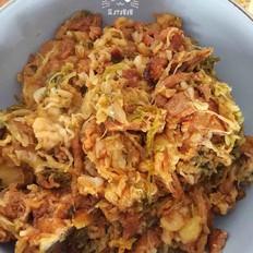 猪骨头烩酸菜~家乡菜