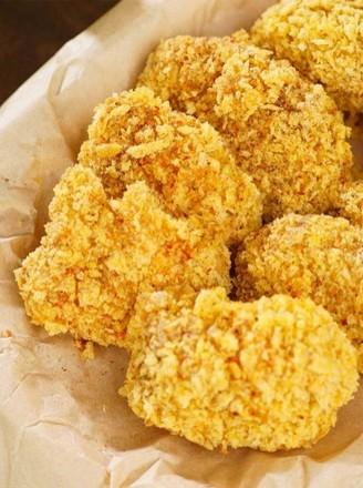 非油炸微波炉盐酥鸡的做法