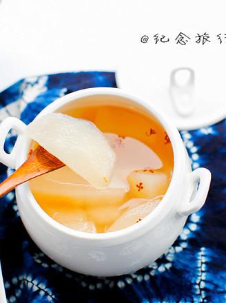 桂花雪梨汤的做法