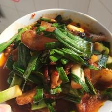 家常味,,蒜苗回锅肉,简单易做