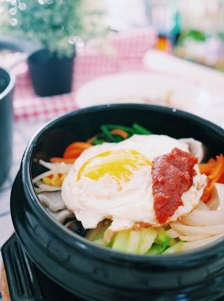 韩国石锅拌饭(少油版)
