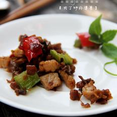 肉丁炒外婆菜