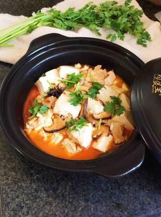 砂锅豆腐的做法