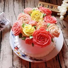 豆沙花香橙蛋糕——第二届乐众烘焙大赛获奖作品