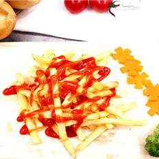 土豆传奇炸薯条制作步骤