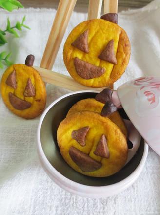 万圣节不给糖就捣蛋——南瓜饼干的做法