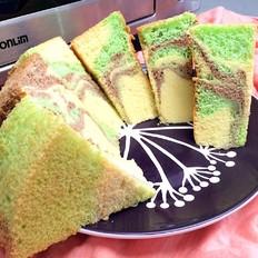 迷彩戚风蛋糕