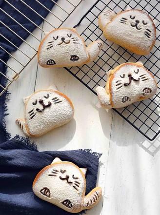 可爱猫--全麦蜂蜜小面包的做法