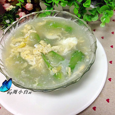 丝瓜鸡蛋汤