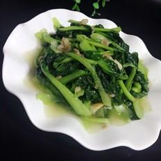 油渣炒小白菜