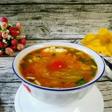 鲜美南瓜花汤