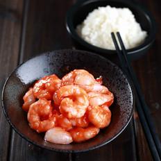 茄汁荔枝虾仁