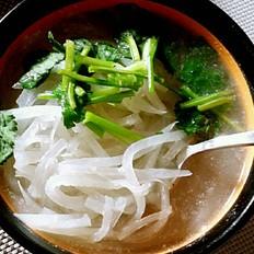 白萝卜丝汤的做法[图]