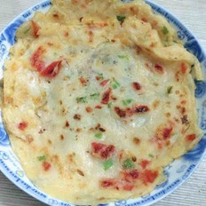 番茄青椒煎饼