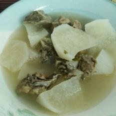 萝卜排骨汤
