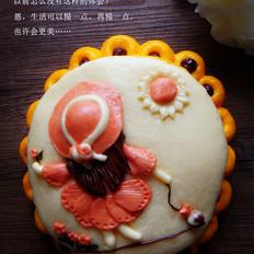 花样面食| 牵着蜗牛去散步 #樱花味道#