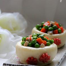 创意燕麦香米面食小碗