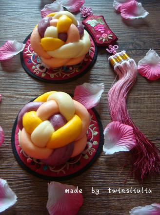 花样面食绣球馒头的做法 花样面食绣球馒头怎么做 twinsliuliu的菜谱