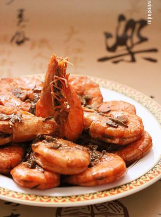 一香到底的茶香虾 #樱花味道#的做法