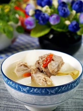 鸭肉萝卜汤的做法
