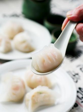 鳕鱼水晶虾饺的做法