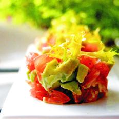 西柚牛油果沙拉