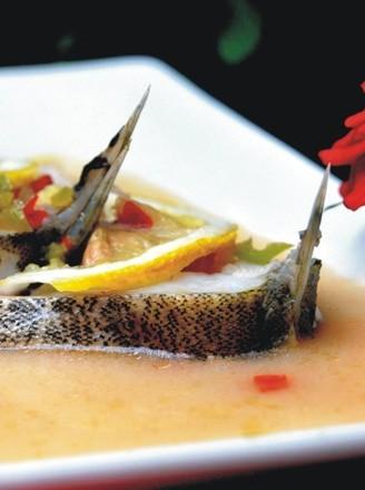 柠香鳜鱼的做法