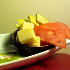 鳄梨番茄芝士沙拉