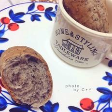 黑芝麻黑豆豆浆小餐包