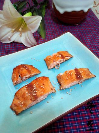 黑龙江香煎大马哈鱼的做法