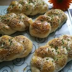 麻花辫面包:烫种的柔情