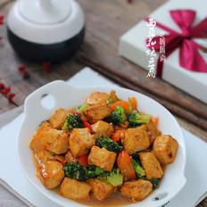 蚝油西兰花烧豆腐