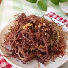 凉拌龙须菜的做法[图]