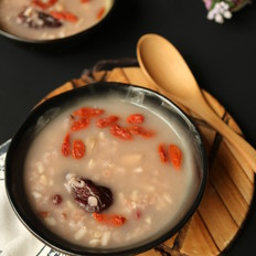 五红燕麦粥