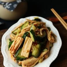 黄瓜拌腐竹