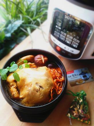 苏泊尔·虫草花炖鸡的做法